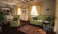 Гостиная дома в стиле прованс 1