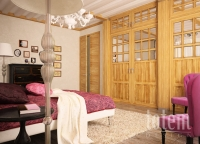 Домик под Красногорском, спальня 2