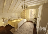 Спальня по мотивам стиля прованс