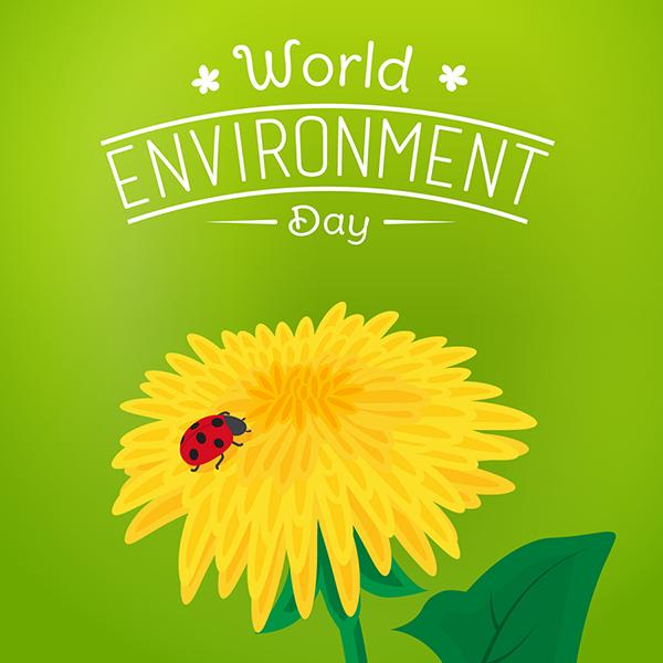 Постер к всемирному дню окружающей среды