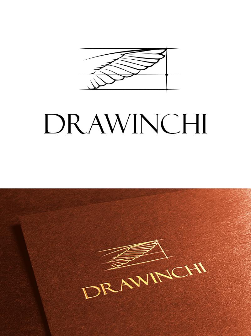 DRAWINCHI Логотип для наборов карандашей