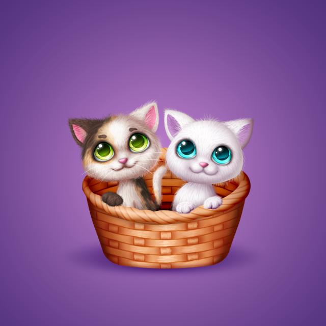 Котята - Подарок для Ок.ру