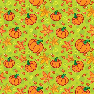 Pumpkins Pattern (Illustrator)