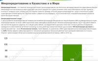 Профессиональные статьи: кредитование в Казахстане и в Мире