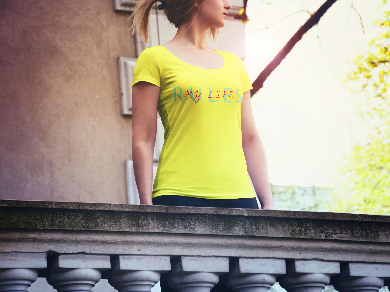 Придумать надпись на футболки на английском языке. Тематика  фото f_2365cae0c7f16417.jpg