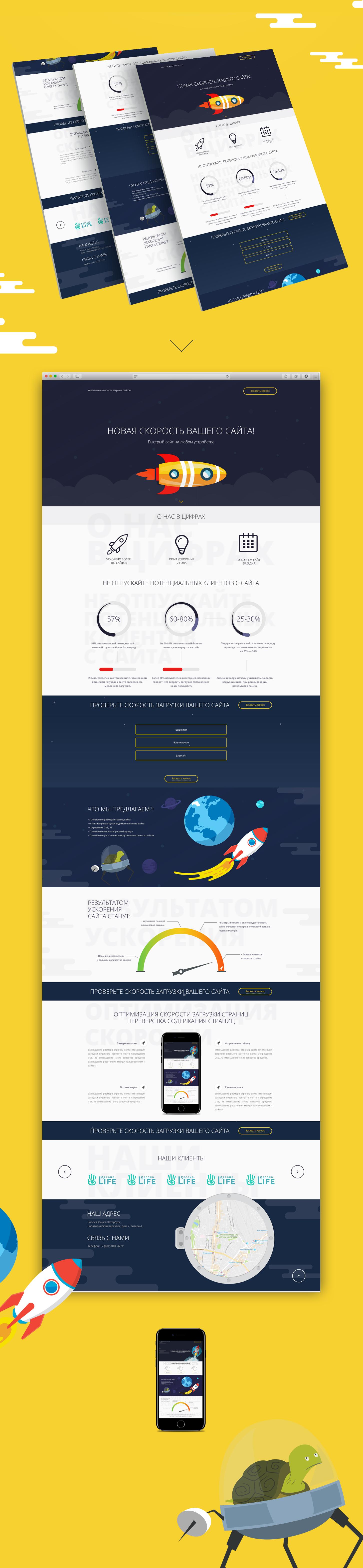 Дизайн сайта - Ускорение продаж