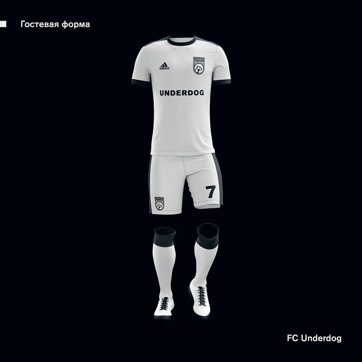 Футбольный клуб UNDERDOG - разработать фирстиль и бренд-бук фото f_0005cb31e9a8609c.png