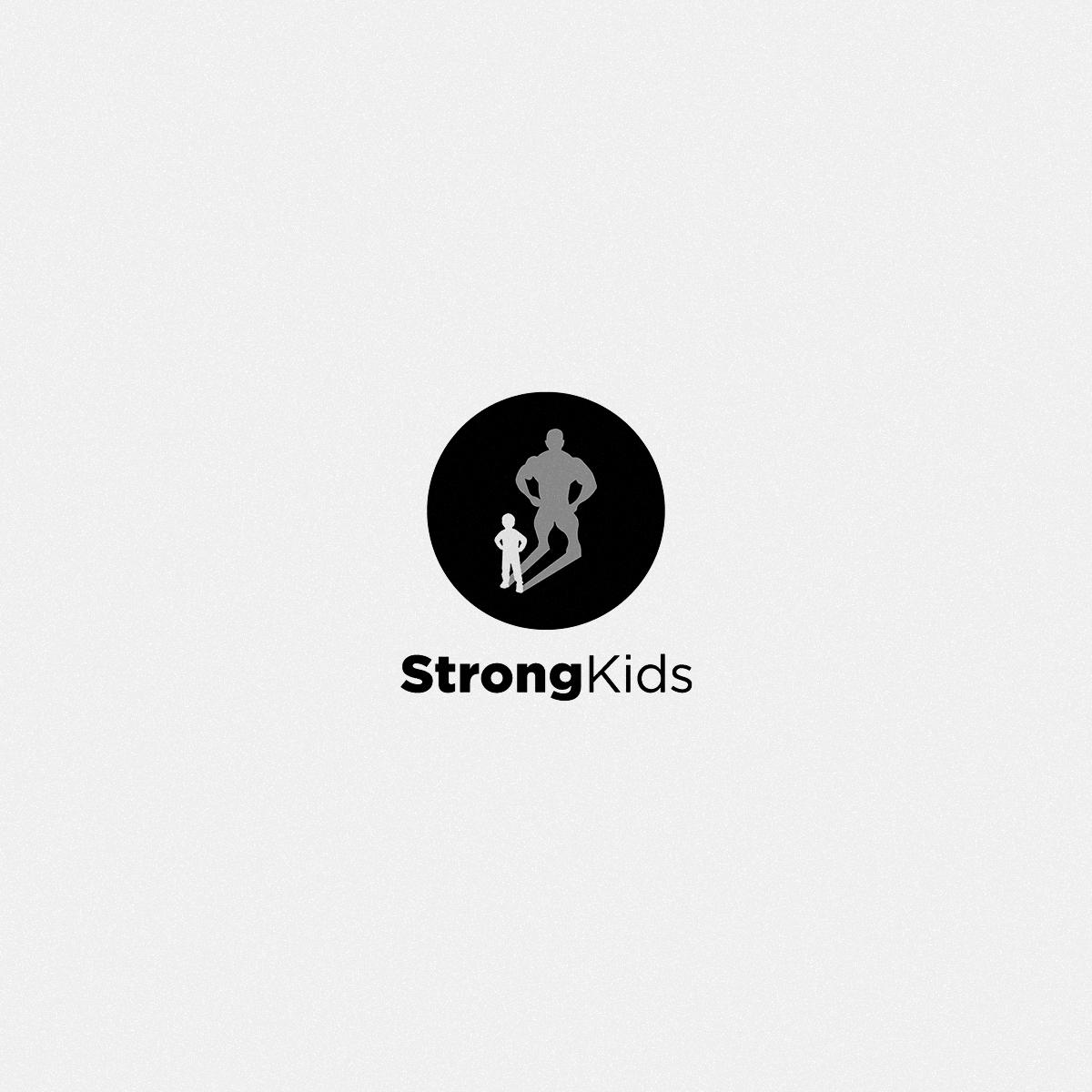 Логотип для Детского Интернет Магазина StrongKids фото f_4495c6ea19690e23.png