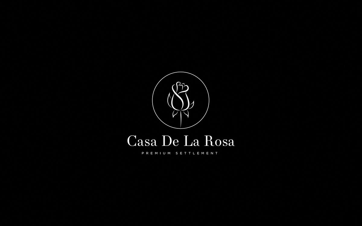 Логотип + Фирменный знак для элитного поселка Casa De La Rosa фото f_8995cd447a9913e7.png