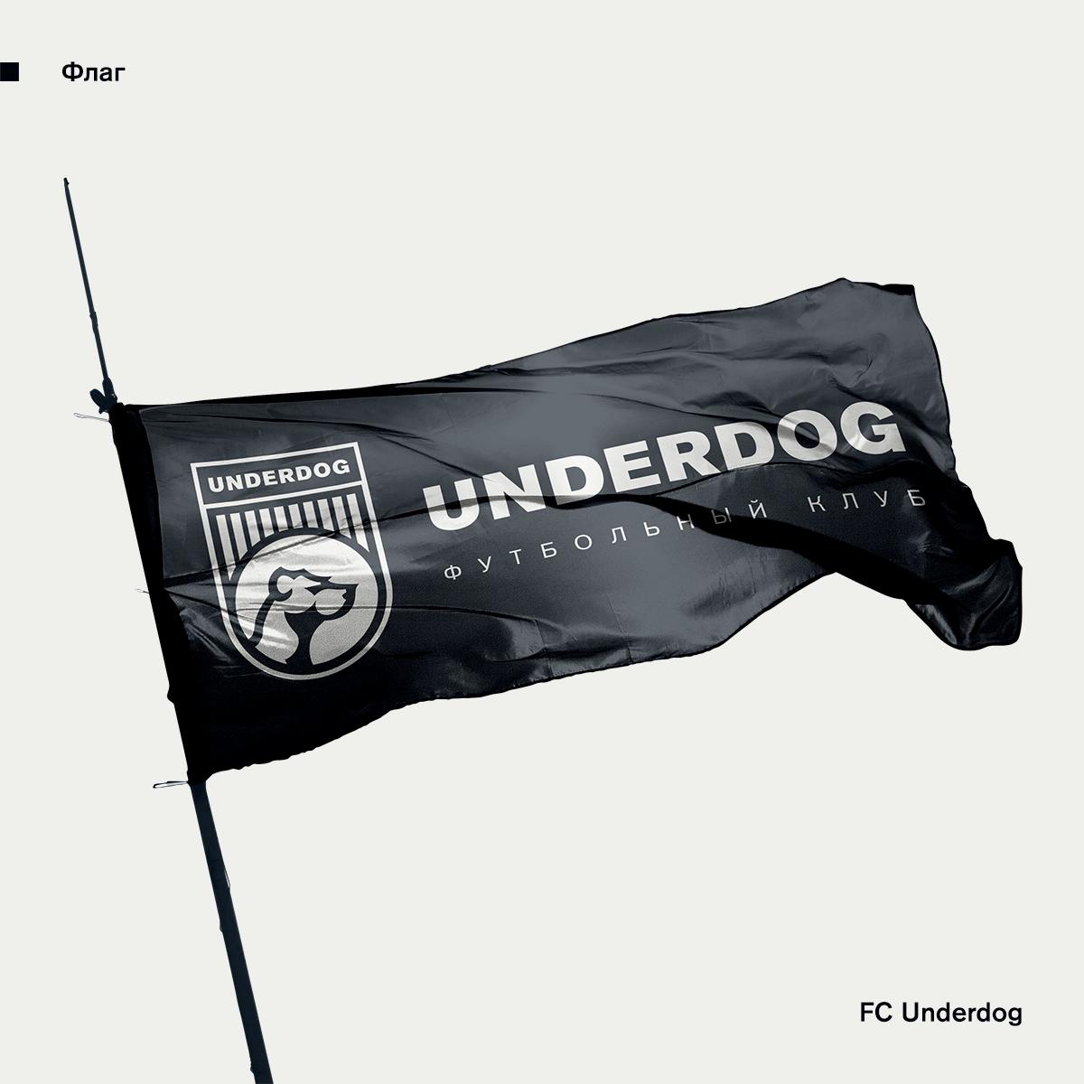 Футбольный клуб UNDERDOG - разработать фирстиль и бренд-бук фото f_9595cb31eac0158c.png