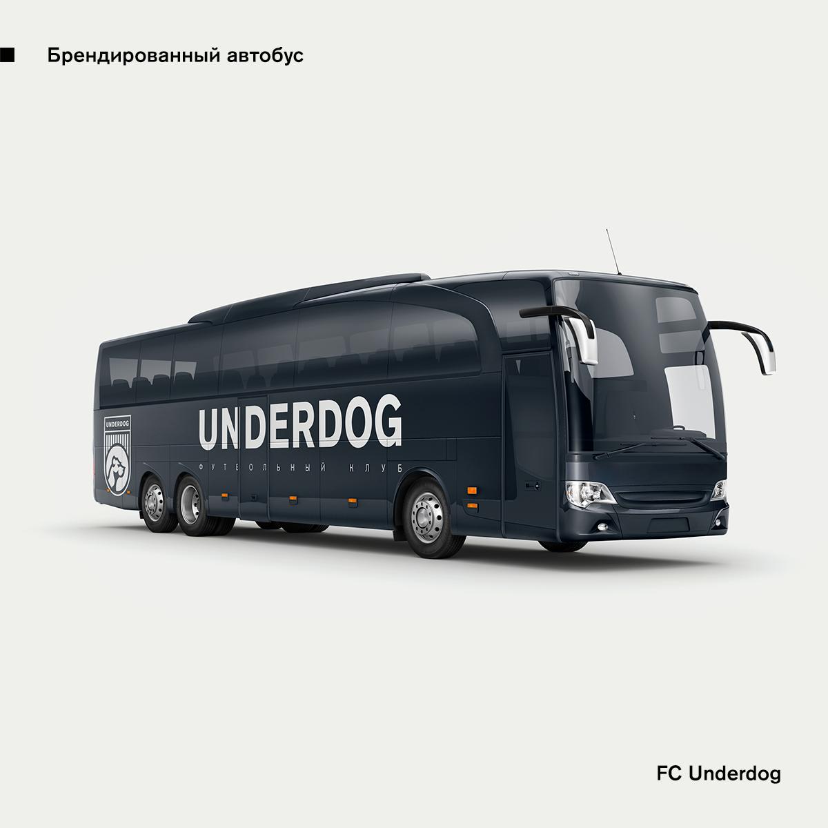 Футбольный клуб UNDERDOG - разработать фирстиль и бренд-бук фото f_9635cb31ea350ed7.png