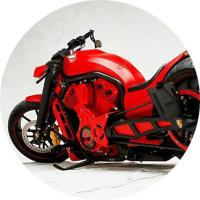 Отрывок перевода, посвященный мотоциклам кастом En > Ru