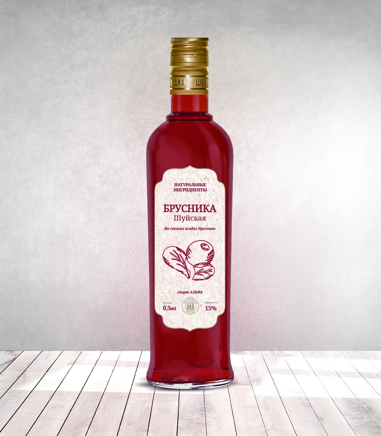 Дизайн этикетки алкогольного продукта (сладкая настойка) фото f_2855f8830441c8a4.jpg