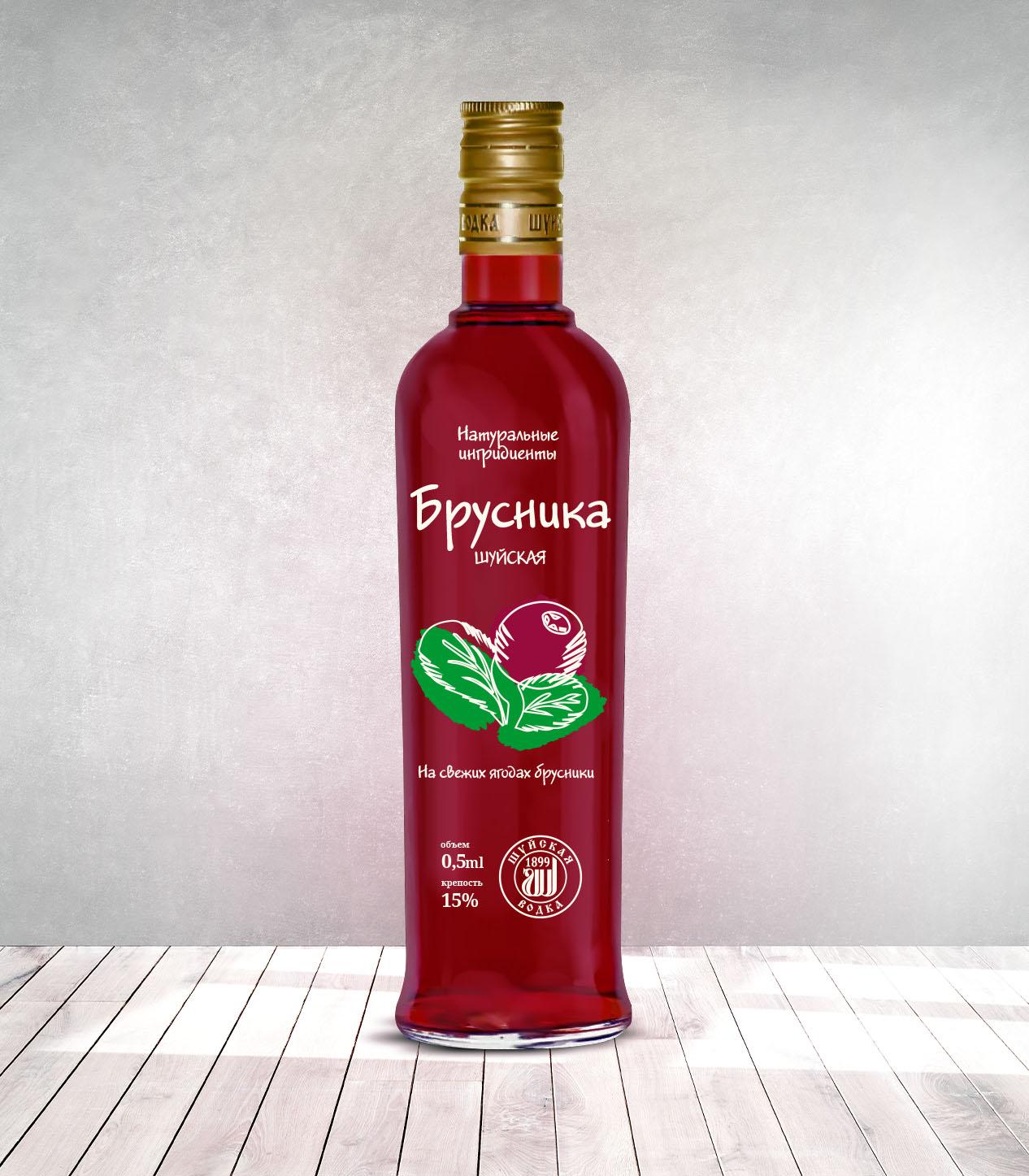 Дизайн этикетки алкогольного продукта (сладкая настойка) фото f_4615f88302c7ec41.jpg