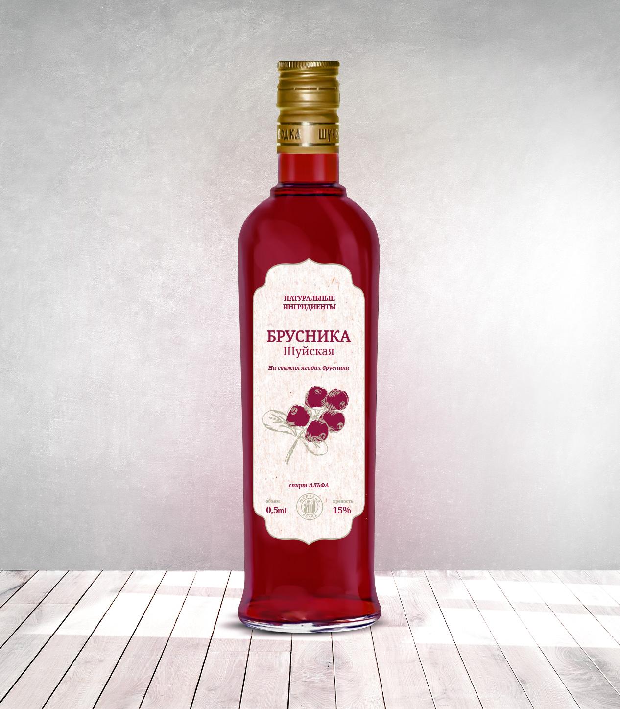 Дизайн этикетки алкогольного продукта (сладкая настойка) фото f_4815f883037c40b6.jpg