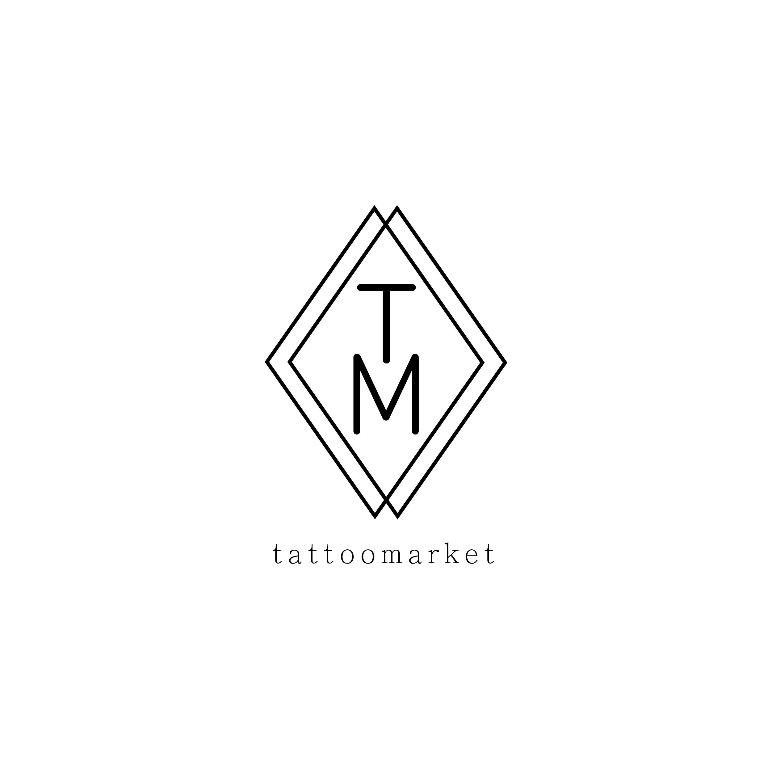 Редизайн логотипа магазина тату оборудования TattooMarket.ru фото f_5255c3b1e5c32414.jpg
