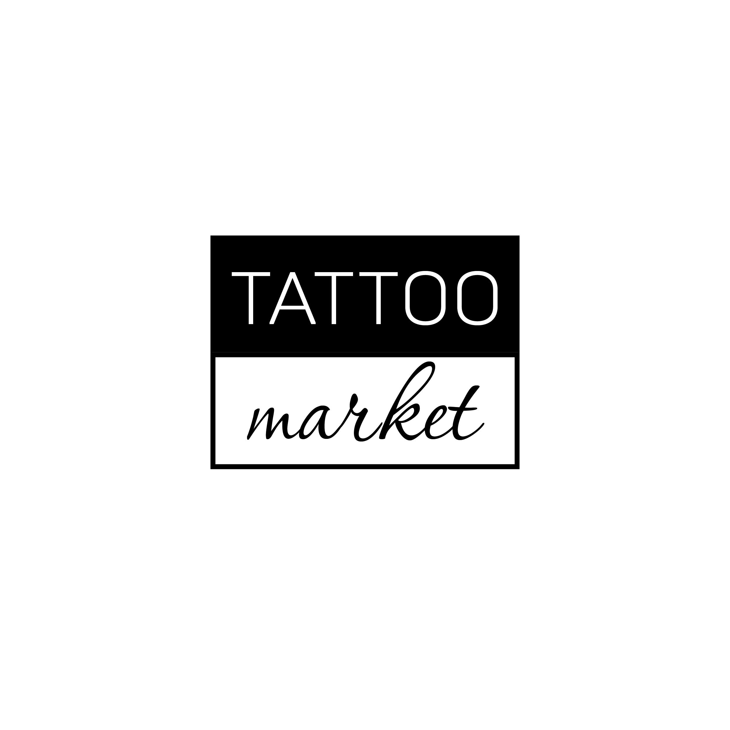 Редизайн логотипа магазина тату оборудования TattooMarket.ru фото f_5925c3b1e643f73d.jpg
