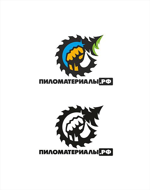"""Создание логотипа и фирменного стиля """"Пиломатериалы.РФ"""" фото f_068530c9970e046b.jpg"""