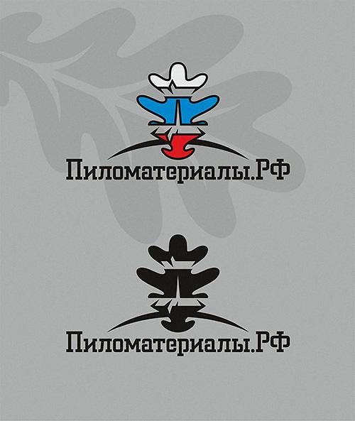 """Создание логотипа и фирменного стиля """"Пиломатериалы.РФ"""" фото f_183530b2d068d969.jpg"""