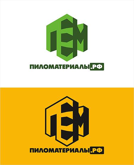 """Создание логотипа и фирменного стиля """"Пиломатериалы.РФ"""" фото f_972530cd397d87bf.jpg"""