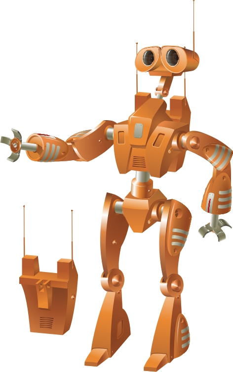 Робот с ранцем