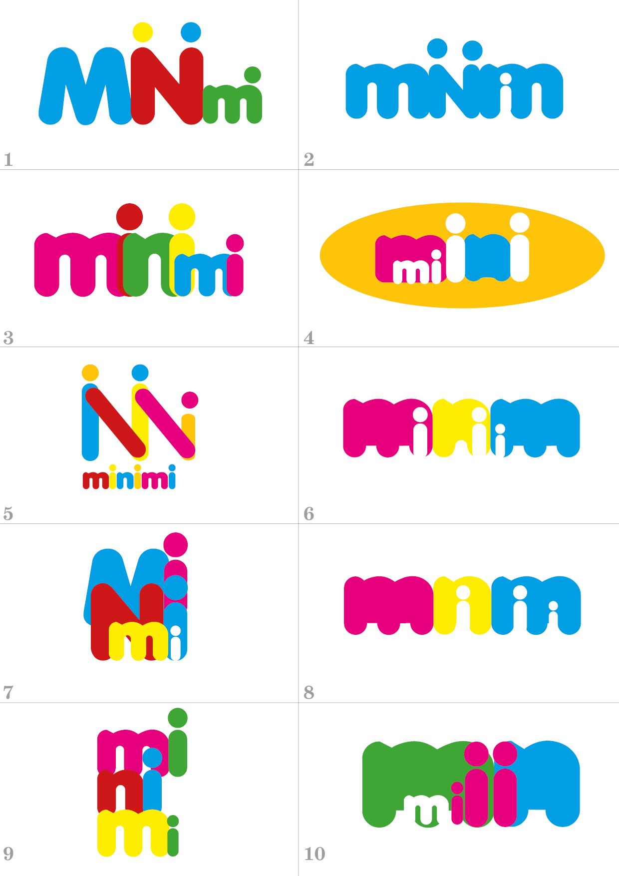 Цель: Разработать логотип детской дизайнерской одежды Мinimi фото f_3505b228efc36544.jpg
