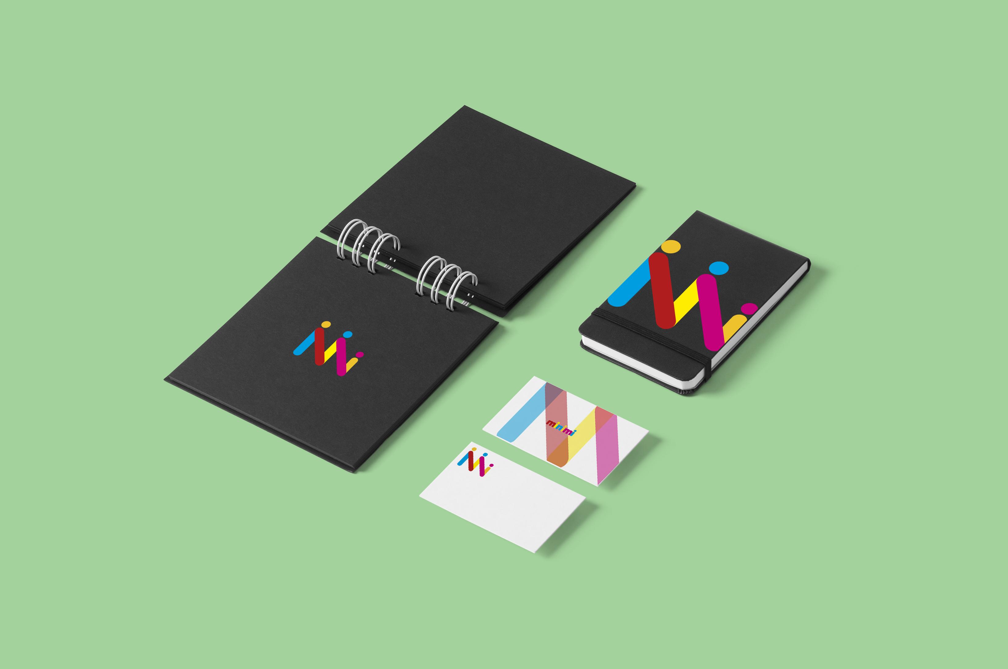 Цель: Разработать логотип детской дизайнерской одежды Мinimi фото f_8955b228f027a14e.jpg