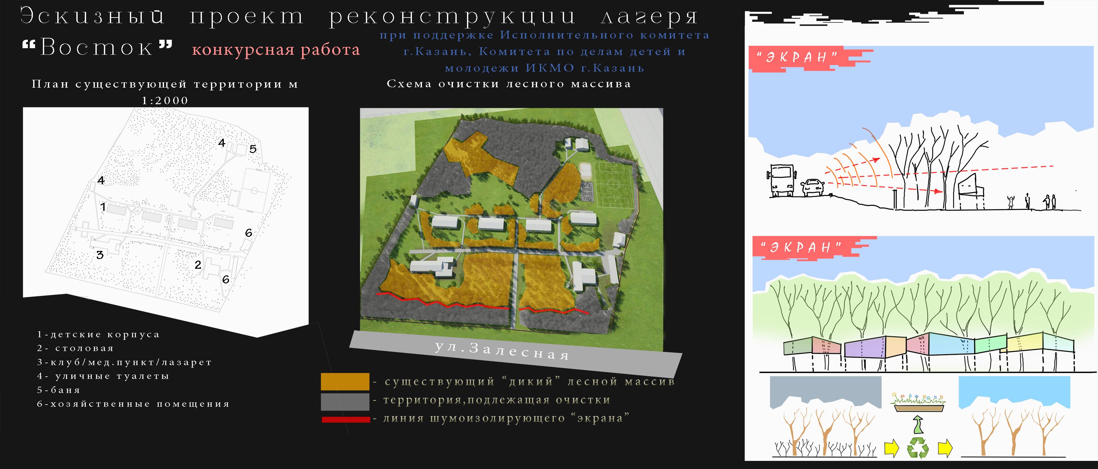 """3_Проект реконструкции ДОЛ """"Восток"""" г.Казань"""
