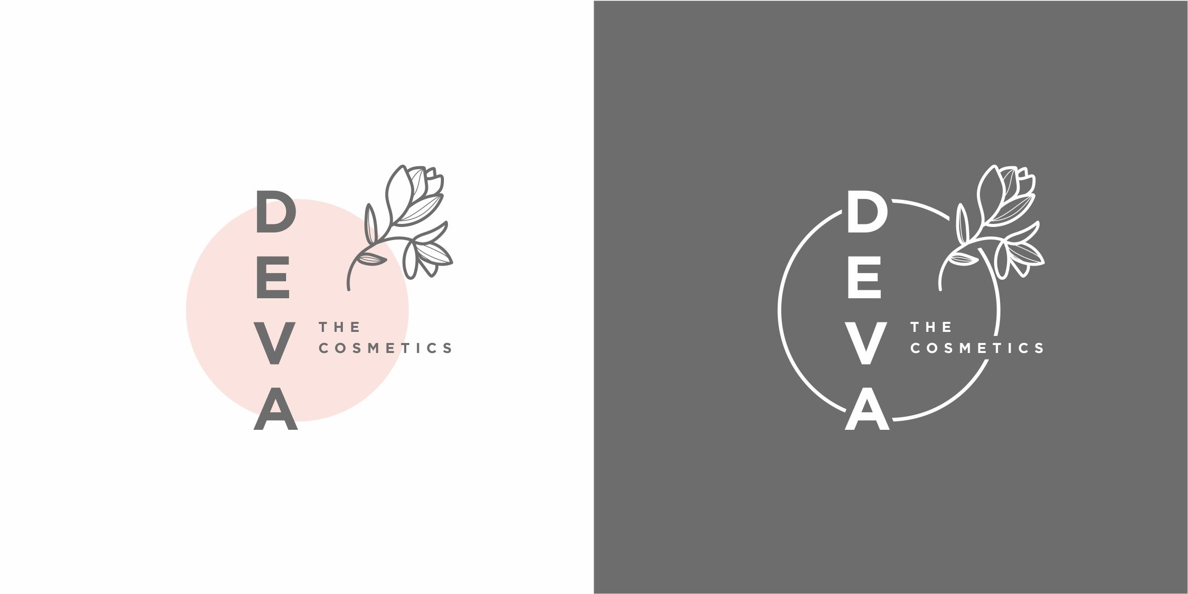 """Крема ручной работы """"DEVA"""". Логотип."""