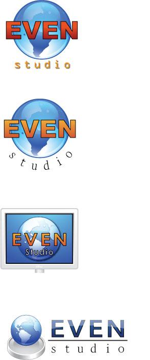 """Варианты логотипов для """"Эвен-студио"""" - 3"""