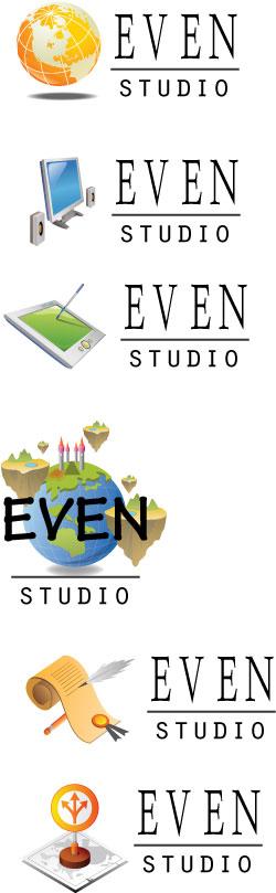 """Варианты логотипов для """"Эвен-студио"""" - 4"""