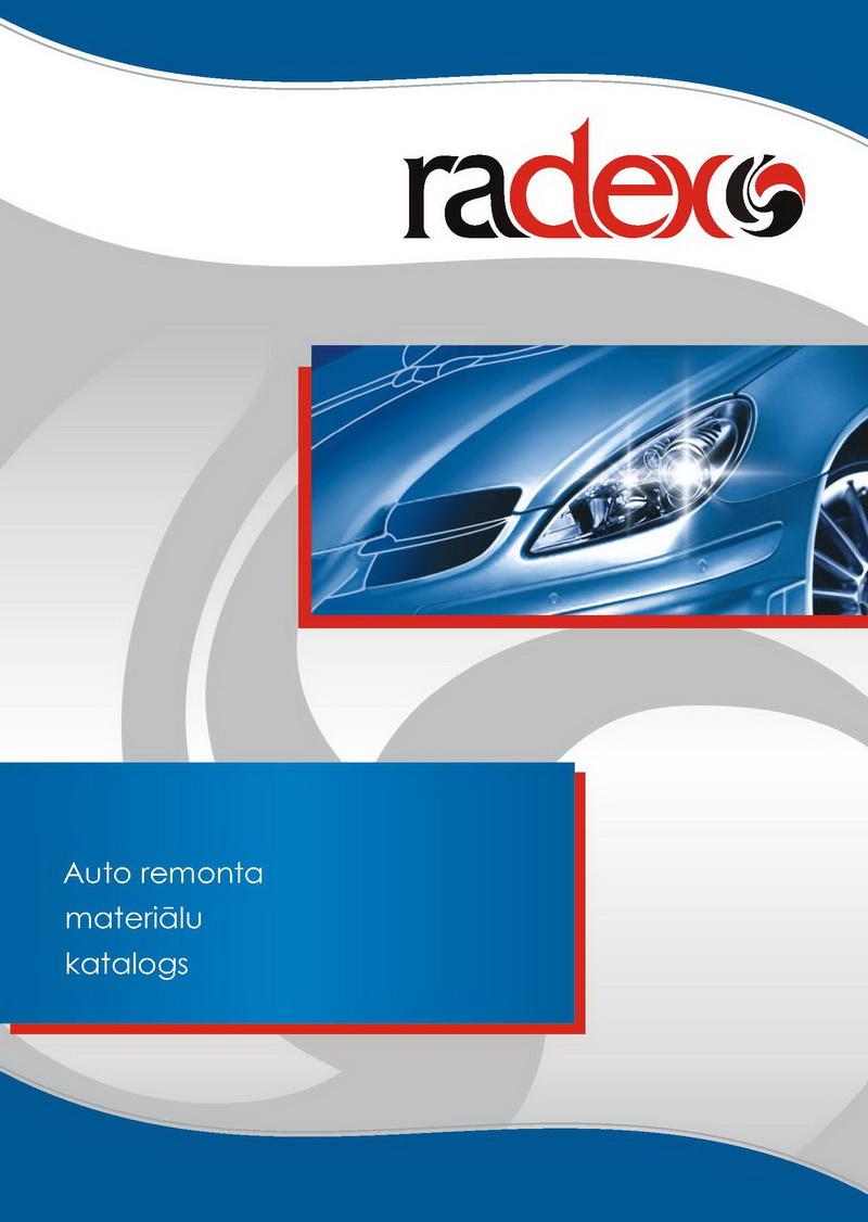 """Каталог автоматериалов """"Radex"""" - обложка"""
