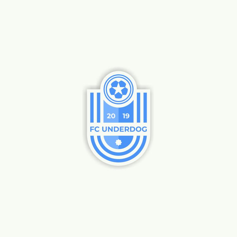Футбольный клуб UNDERDOG - разработать фирстиль и бренд-бук фото f_7525cb23c6ee8711.png