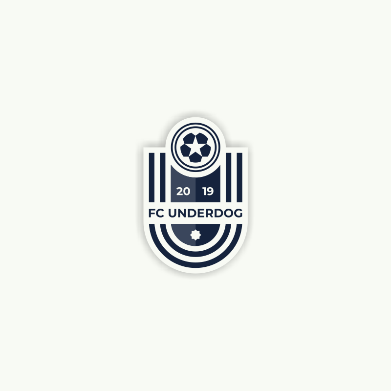 Футбольный клуб UNDERDOG - разработать фирстиль и бренд-бук фото f_7995cb23c6900778.png