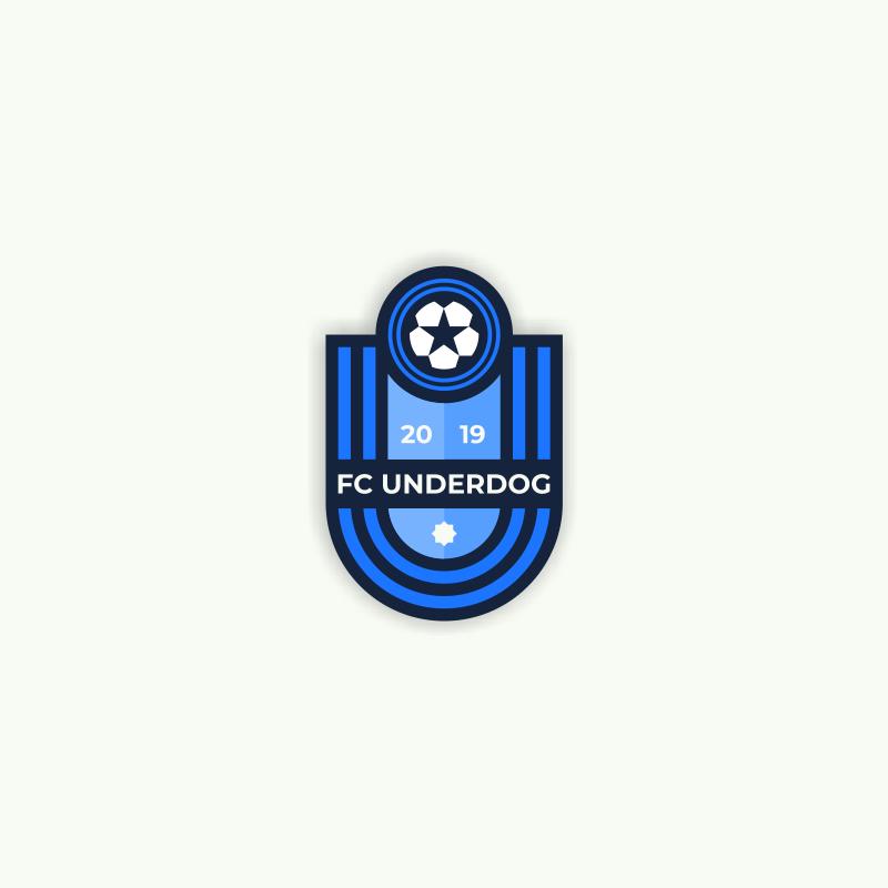 Футбольный клуб UNDERDOG - разработать фирстиль и бренд-бук фото f_8195cb23c5fbb36f.png