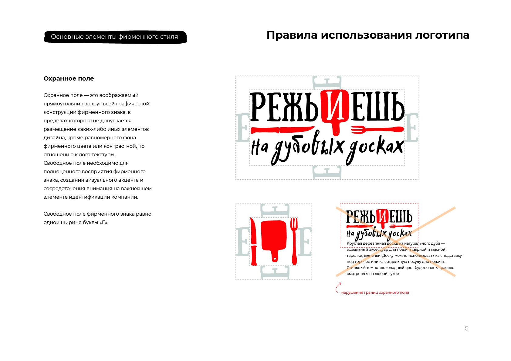 Режь и Ешь - Логотип