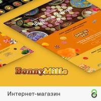 Интернет-магазин сладостей Bonny Mille