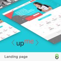 Landing page Up Me - Агентство по привлечению клиентов