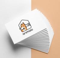 Логотип приюта для животных Animalo