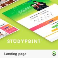 Landing page под ключ StudyPoint - подготовка к ЕГЭ и ОГЭ