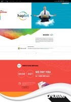 LANDING PAGE_Hapbit IT компания