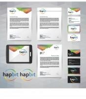 Фирменный стиль IT компании Hapbit