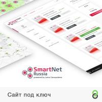 Сайт под ключ SmartRussia - Сеть референцных базовых станций