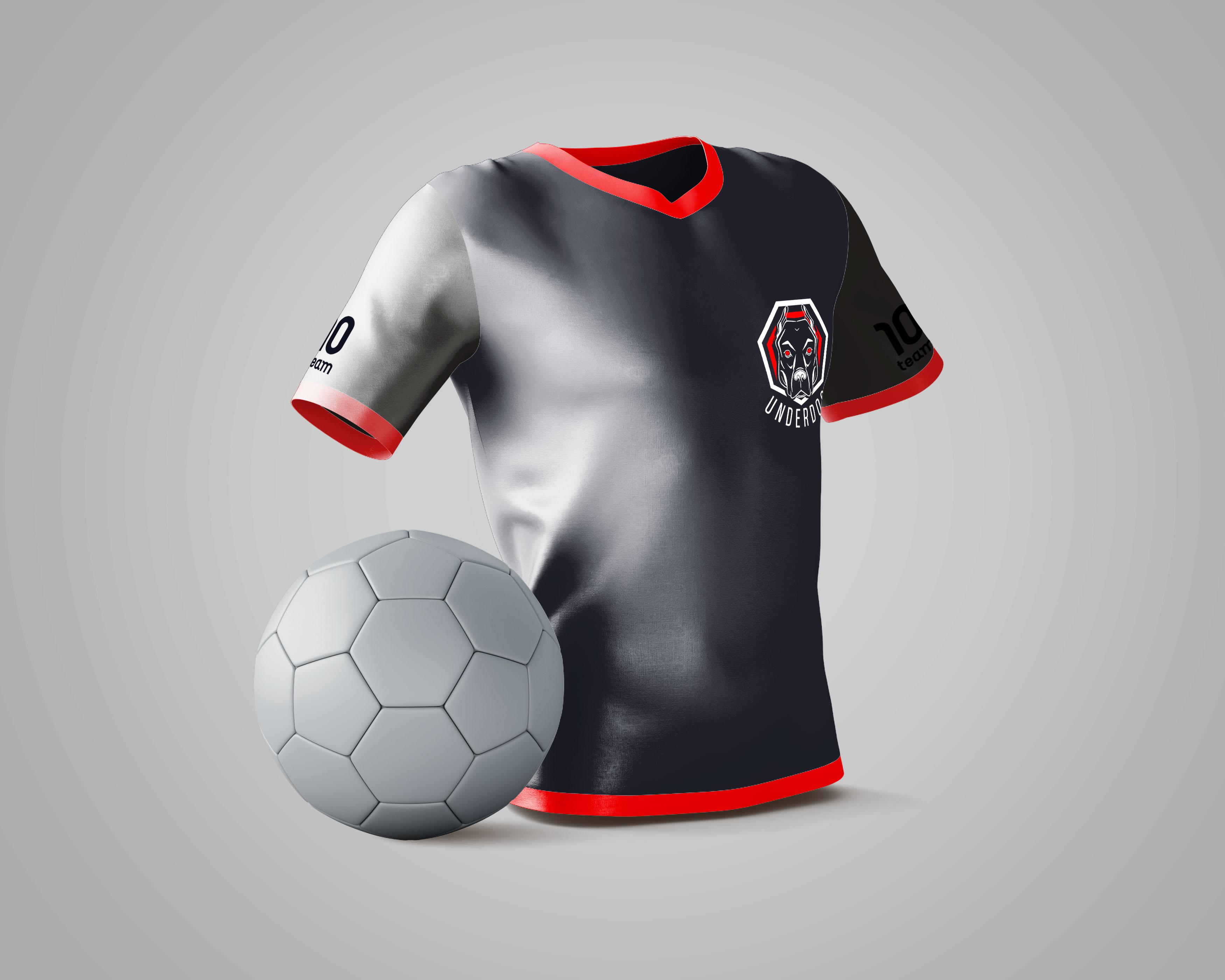Футбольный клуб UNDERDOG - разработать фирстиль и бренд-бук фото f_3035caf8e127e972.jpg