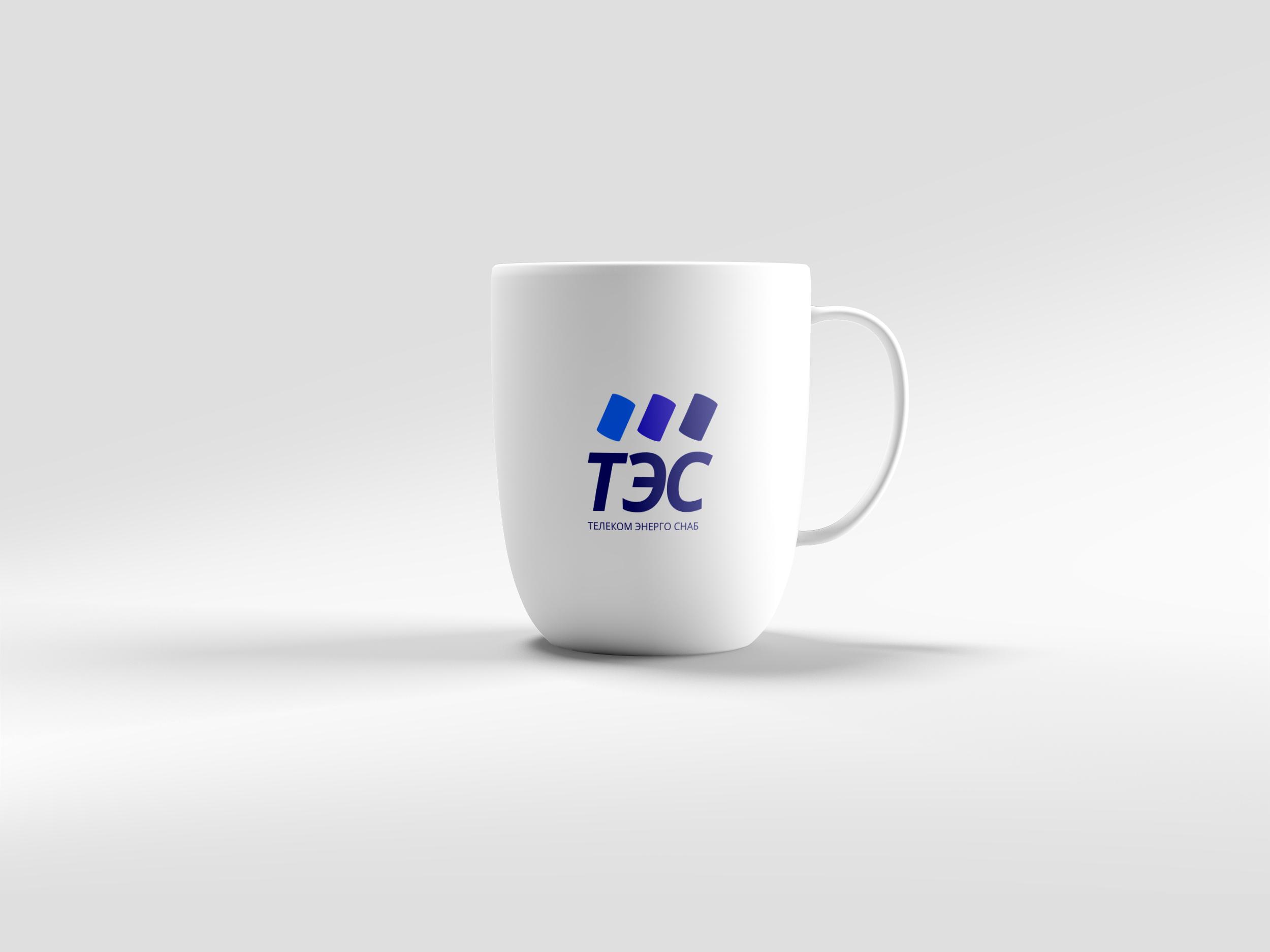 """Логотип для компании строительных коммуникаций """"ТЭС""""."""