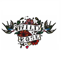 Векторизация знака WILD ROSE