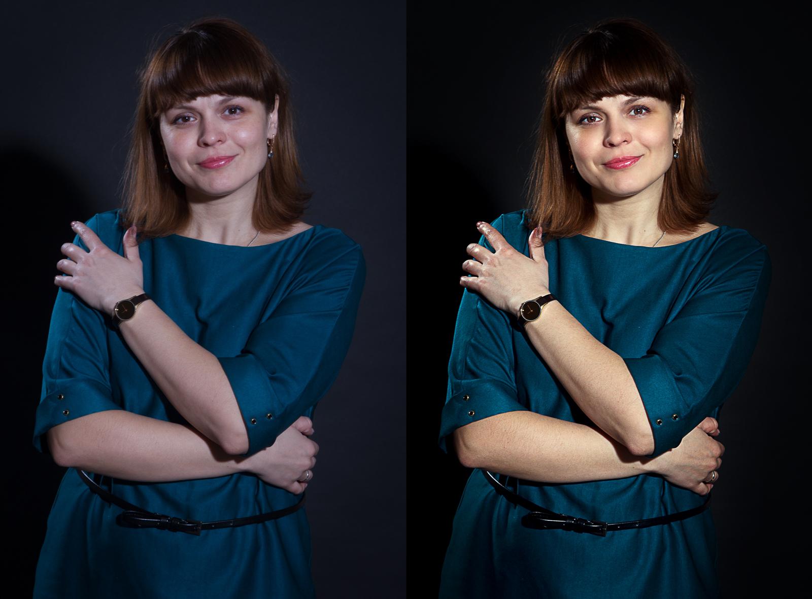 Ретушь женских и семейных портретов
