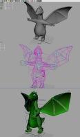 создание и анимация персонажа