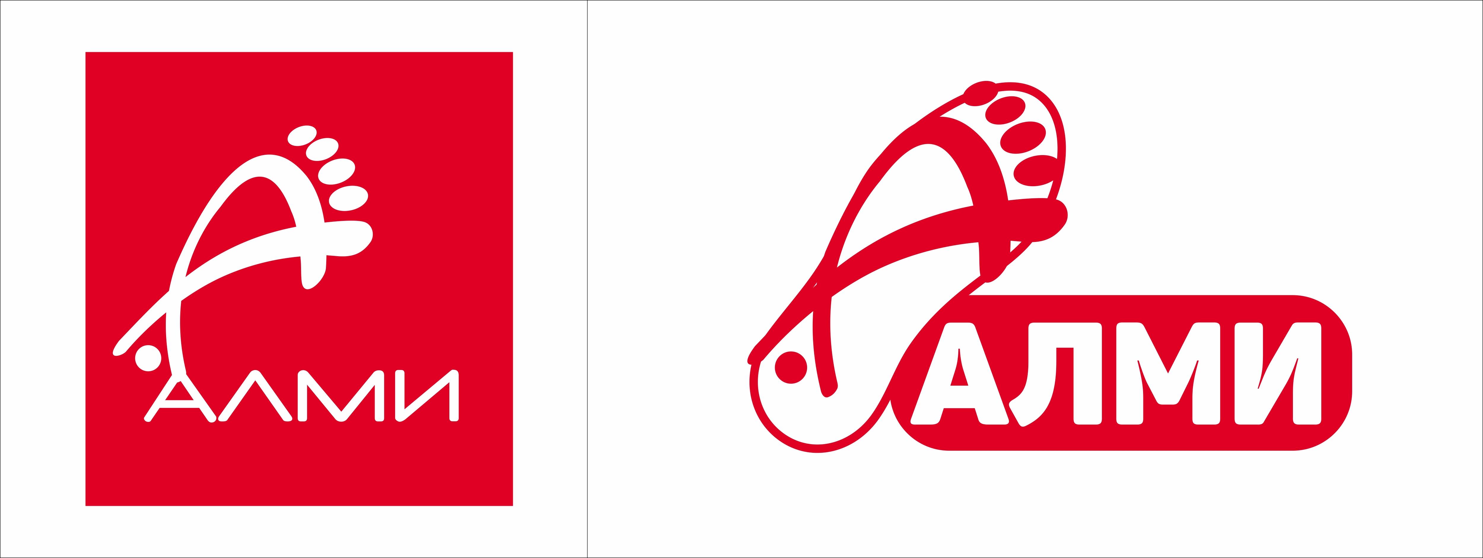 Дизайн логотипа обувной марки Алми фото f_65859e0fa05790b4.jpg