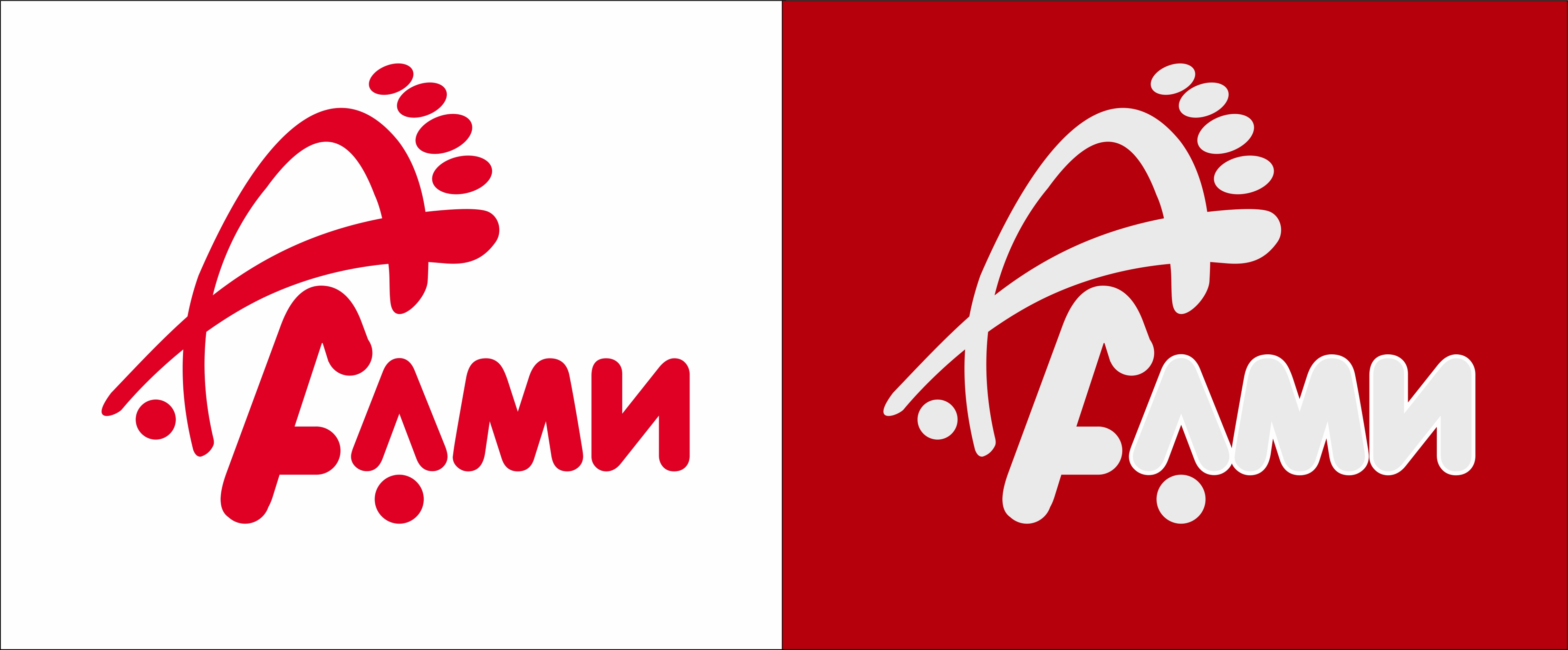 Дизайн логотипа обувной марки Алми фото f_92059e258d7d641b.jpg